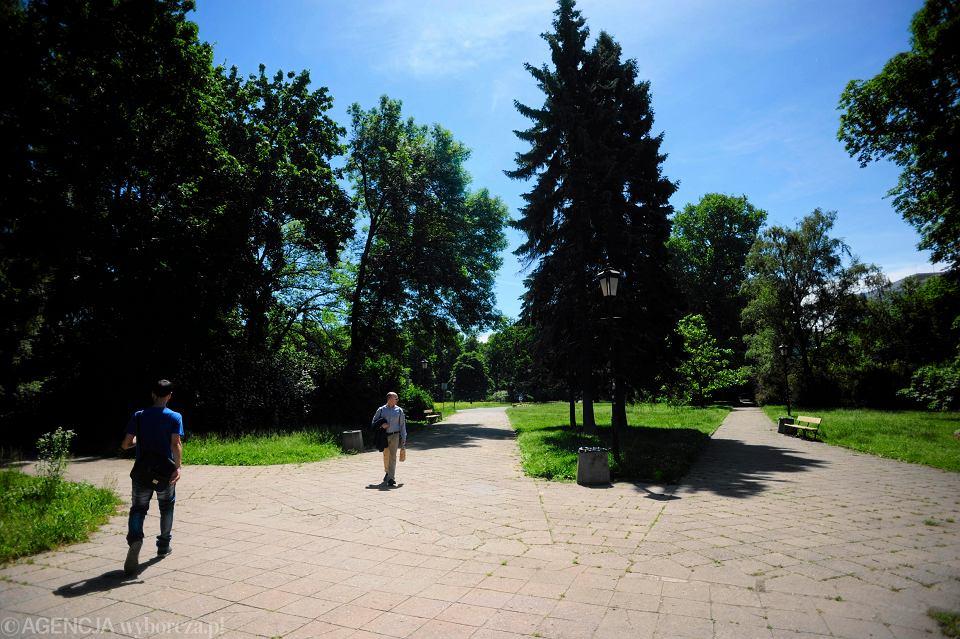 Ogrod Saski w Warszawie [zdjęcie ilustracyjne]