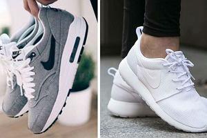 Najpopularniejsze modele butów Nike - Air Max, Air Force 1 i Roshe Run. Teraz przecenione nawet o 50%!