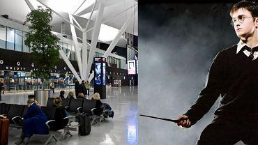 Różdżki z Harry'ego Pottera przechwycone na gdańskim lotnisku
