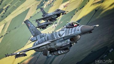 10 lat F-16 z polsk� szachownic�. Mafia My�liwska stworzy�a samolot, kt�rego jeszcze nikt nie zestrzeli�