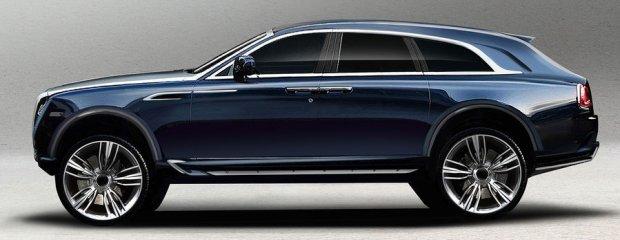 Rolls-Royce Ghost SUV koncept