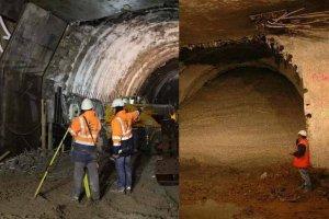 Kopi� metro pod tunelem Wis�ostrady. Bez komplikacji
