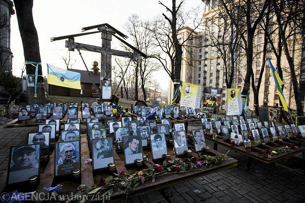 Zdjęcia ofiar na kijowskim Majdan, 9 grudnia 2015 r.