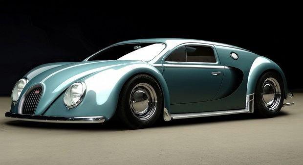 bugatti veyron z 1945 roku. Black Bedroom Furniture Sets. Home Design Ideas