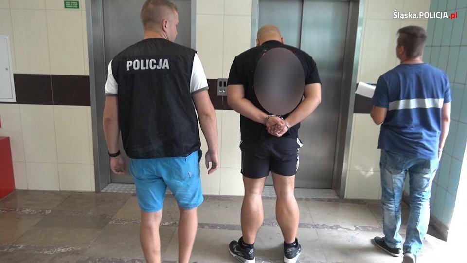 Policja zatrzymała członków gangu złożonego z kibiców Górnika Zabrze