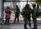 Media alarmuj�: W nocy Rosjanie spr�buj� przej�� ukrai�skie jednostki wojskowe?