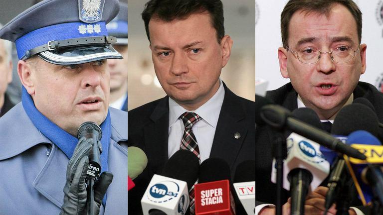 Zbigniew Maj, Mariusz Błaszczak, Mariusz Kamiński