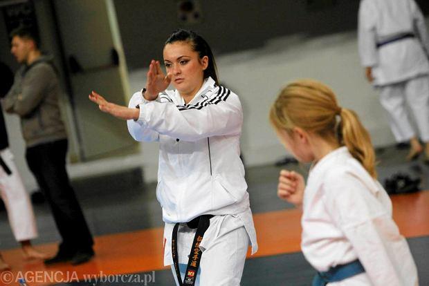 Mistrzyni �wiata Justyna Marciniak z LKKT