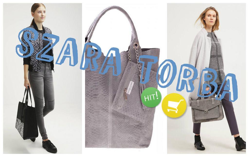 833a8113dfe41 Szara torba- zobacz jak i z czym nosić najmodniejszą torbę sezonu