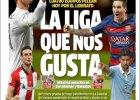Bundesliga. Hiszpa�skie media: Lewandowski lepszy od Ronaldo i Messiego