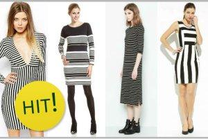 25 naj�adniejszych sukienek w paski