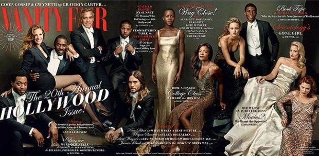 Chiwetel Ejiofor, George Clooney, Julia Roberts, Margot Robbie