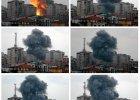 Izraelskie lotnictwo zburzy�o 12-pi�trowy apartamentowiec w Gazie [ZDJ�CIA]