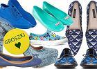 Buty w kolorze niebieskim na wiosn� i lato