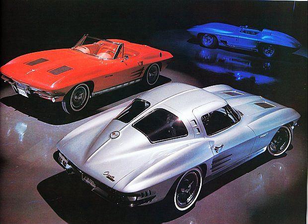 Obok coupe produkowany był również kabriolet. Corvette C2 Sting Ray ?Split-Window