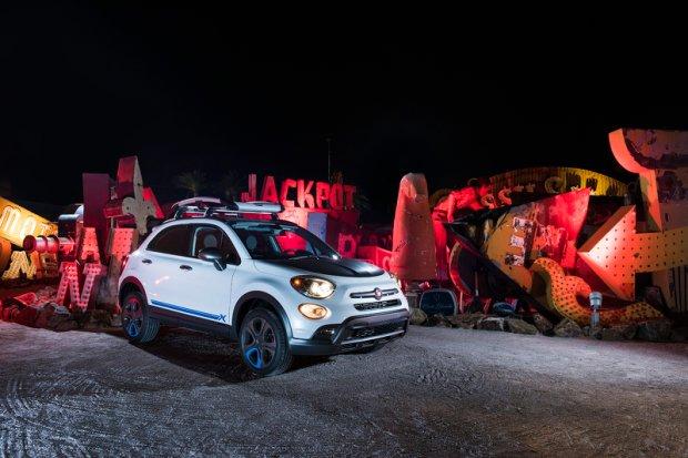 SEMA 2015 | Fiat 500X | Dwie zwariowane odsłony