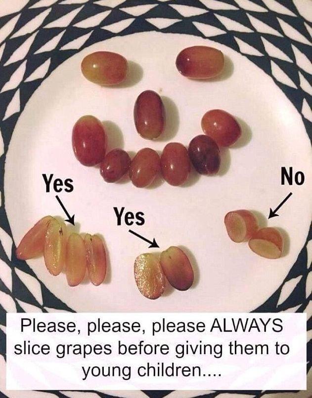 Jak pokroić dziecku winogrona?