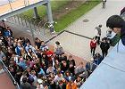 AWF w Poznaniu. Kandydaci na studia zamieszkali pod uczelnią