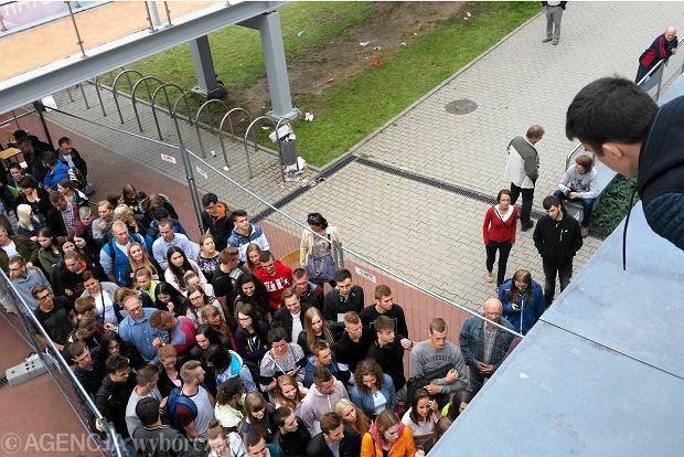 Rekrutacja na AWF w Poznaniu. Interweniowa�a policja