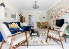 Warszawskie mieszkanie z meblami vintage