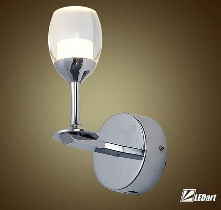 Elegancka lampa LED o niebanalnym kształcie