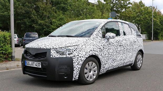 Prototypy | Opel Meriva | P� van, p� crossover