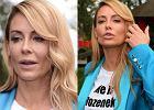 """""""He is David Beckham and me is Victoria"""". Małgorzata Rozenek promuje """"Azja Express"""". PATRZCIE NA JEJ KOSZULKĘ"""