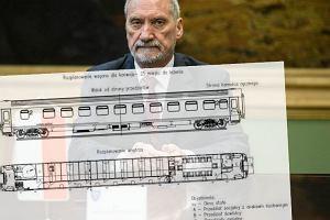 Rusza przetarg na wagony dla wojska. Takimi pociągami Macierewicz chce wozić żołnierzy