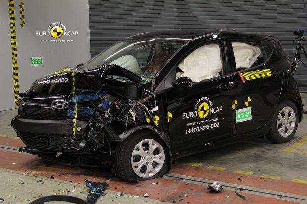 Wideo | Euro NCAP rozbił C-Klasę i i10