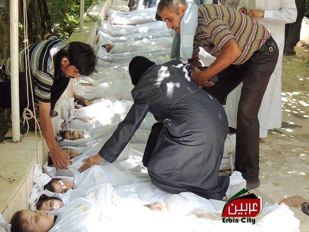 Znalezione obrazy dla zapytania wojna w syrii ofiary