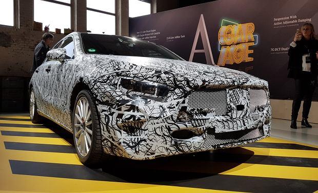 Nowy Mercedes Klasy A - pierwsza prezentacja w Amsterdamie