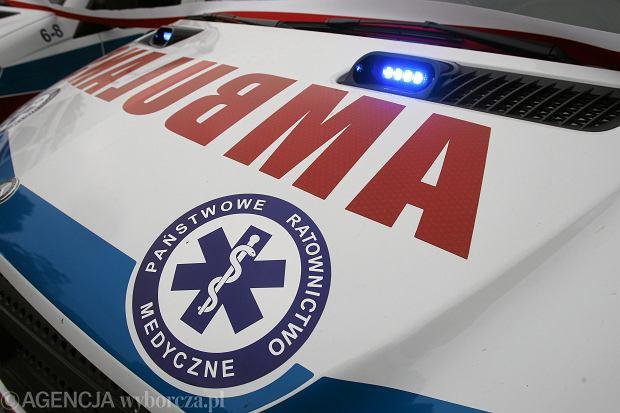 Wypadek awionetki w Chmielowie na Mazowszu. Nie żyją dwie osoby