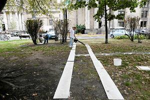 Plac Defilad. Podr� do przysz�o�ci czyli spacer po nowych budynkach MSN i TR Warszawa
