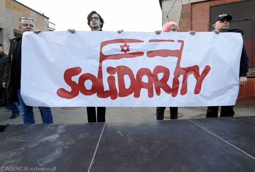 Manifestacja Prawda i pojednanie z okazji 50. rocznicy Marca 1968 roku w Warszawie