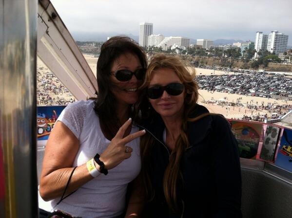Kimberly Conrad z siostrą