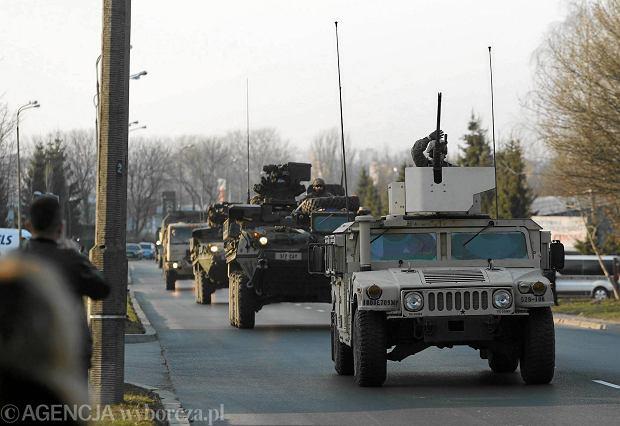 Znalezione obrazy dla zapytania wojsko usa w polsce