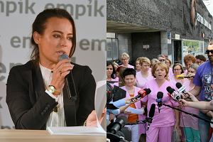 Anna Mucha / Strajk pielęgniarek
