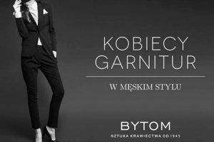Marka Bytom ubiera kobiety w garnitury