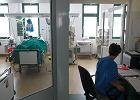 Pierwsza ranna osoba z Kijowa trafi�a do szpitala w ��cznej