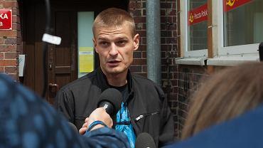 Tomasz Komenda po przesłuchaniu przez Prokuraturę Okręgową z Łodzi