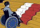 To Polska stoi między osobami z niepełnosprawnością a Europą