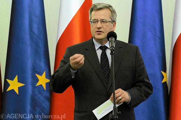 Komorowski w Rijadzie do saudyjskich biznesmen�w: Inwestujcie w Polsce