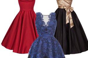 Sukienki na studni�wk�: sze�� modnych stylizacji