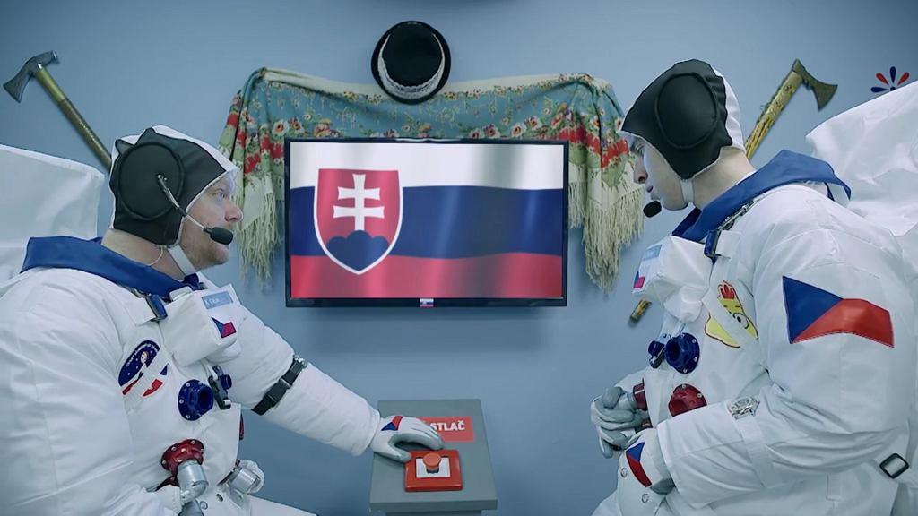Słowacki statek w ''Kosmo'' (fot. Ceská televize)