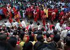 Indie: Pociąg wjechał w grupę pielgrzymów. Wiele ofiar