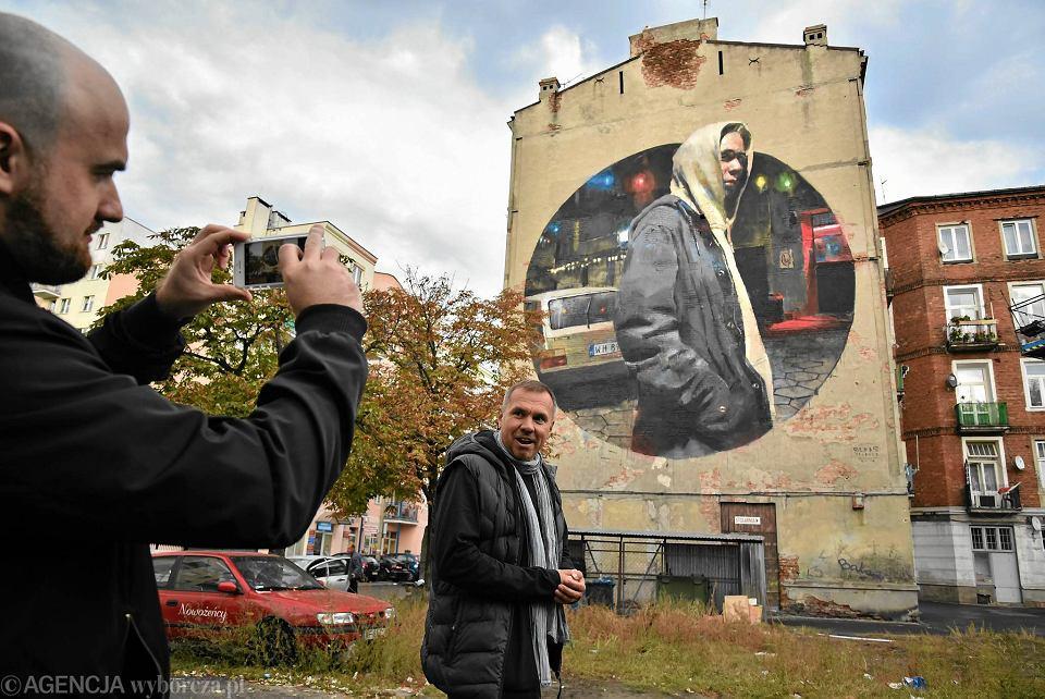 Nowy mural na pradze p noc pra anin okiem baska for Mural ursynow