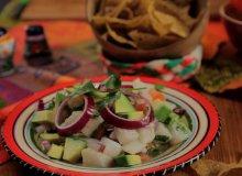 Ceviche, czyli marynowana sałatka z owoców morza - ugotuj
