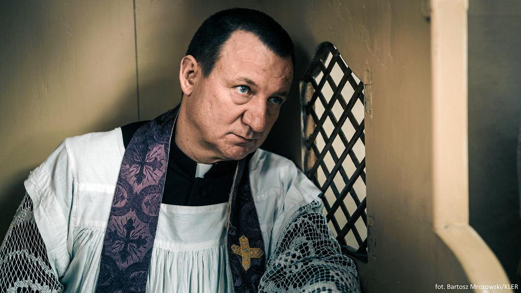 Robert Więckiewicz w filmie 'Kler' w reżyserii Wojciecha Smarzowskiego /