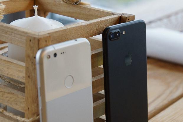 Google Pixel Xl i iPhone 7 Plus