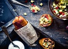 Chimichanga z wieprzowiną i salsą ananasową - ugotuj